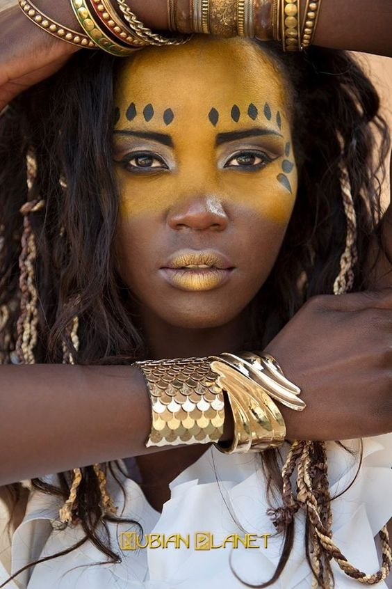 Beautiful Black Women African Queens: Nubian Queens - True African Works Of Art