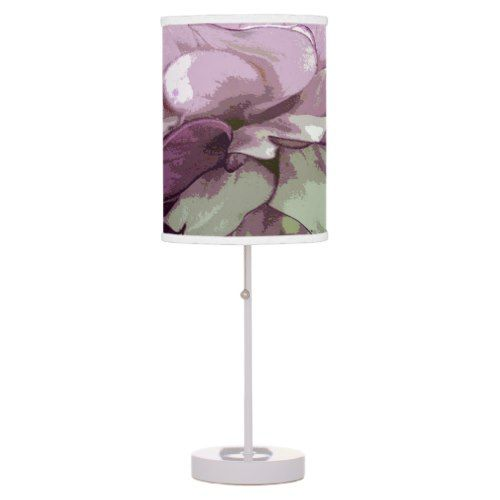 Purple Dahlia Design Lamp Shade | | Lamp design