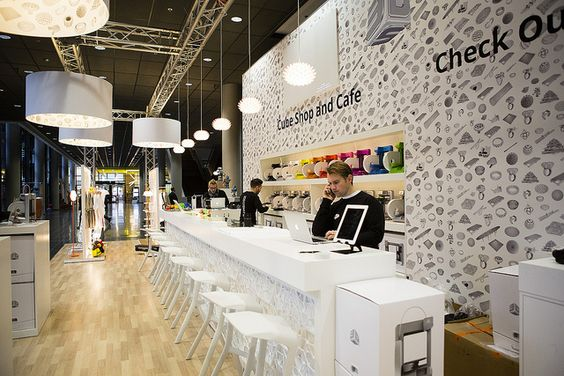 Cube Cafe Counter, Euromold, 2012