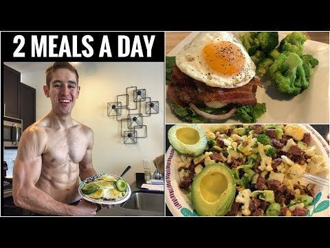 keto diet 2 simple meals a day