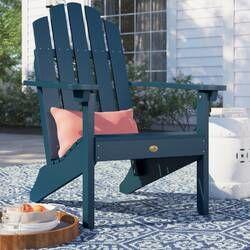 Burlington All Weather Plastic Adirondack Chair Plastic