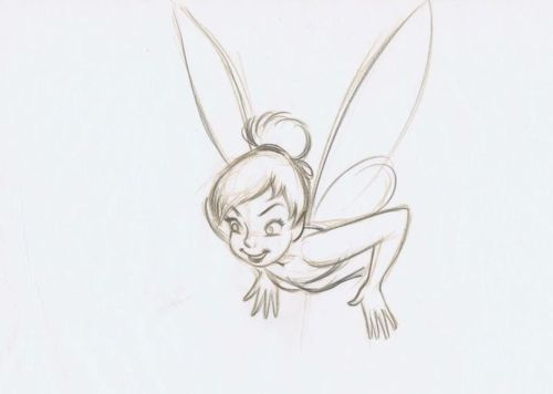 Tinkerbell Sketch by: Marc Davis