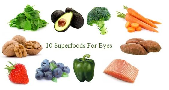 10 superfoods for eyes