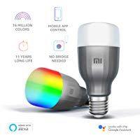 Mi Led Wi Fi 10w Smart Bulb White And Color E27 Base Compatible