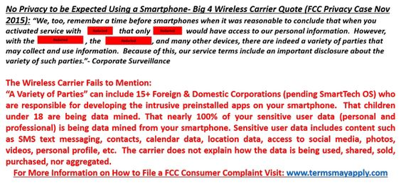 @techpearce3 I have a great story about a FCC privacy case involving a Big 4 wireless carrier- see attached quote