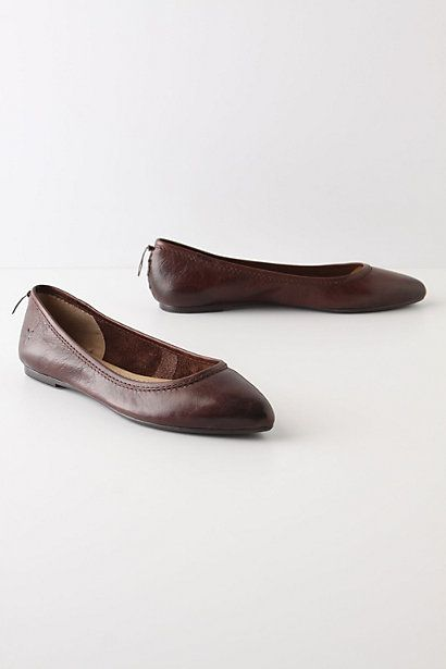 Anthropologie's Guepiere Flats $128.00 (made by Frye)
