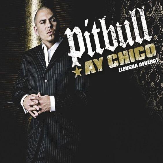 Pitbull – Ay Chico (Lengua Afuera) (single cover art)