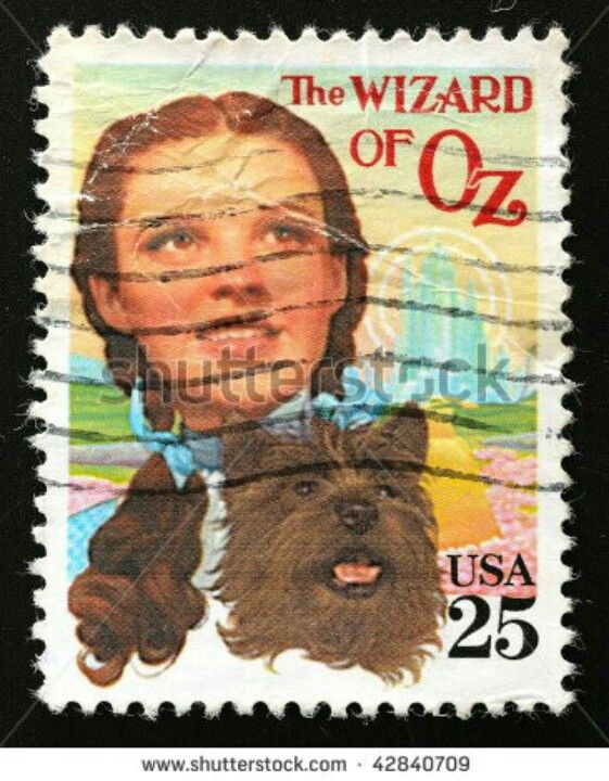 ...wizard of oz postage stamp: