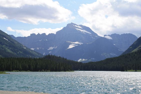 Many Glacier in Montana