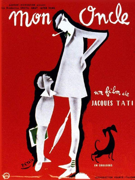 Jacques Tati - Mon oncle - 1958 ARTS DU VISUEL