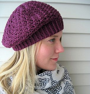 Gallery For > Crochet Beret Pattern
