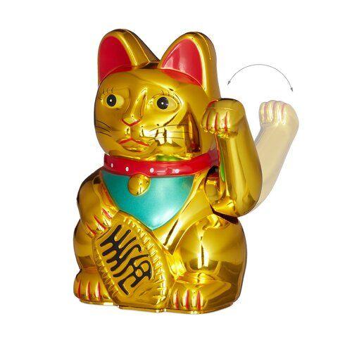 Happy Larry Danielson Gluckskatze Maneki Neko Wayfair De In 2020 Maneki Neko Winkende Katze Katzen Statue
