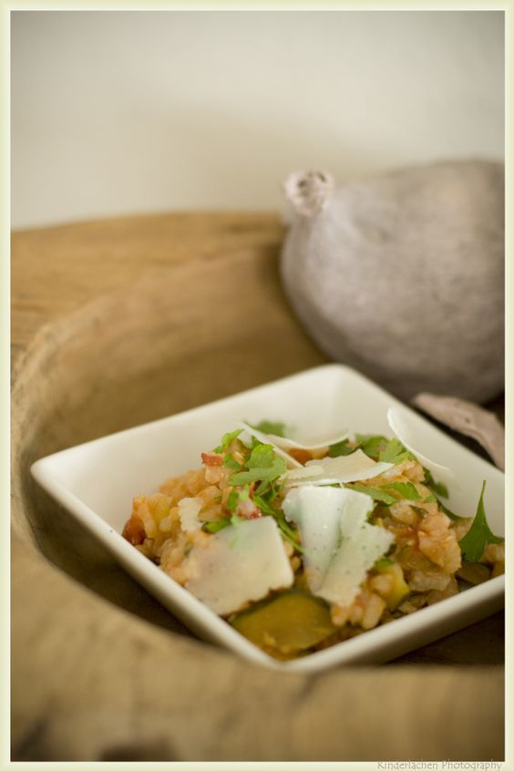 Baked Risotto with Zucchini | Side dishes | Pinterest | Risotto and ...