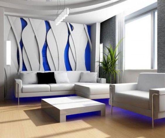 Moderne Wohnzimmereinrichtungen. wohnzimmereinrichtung ideen rotes ...