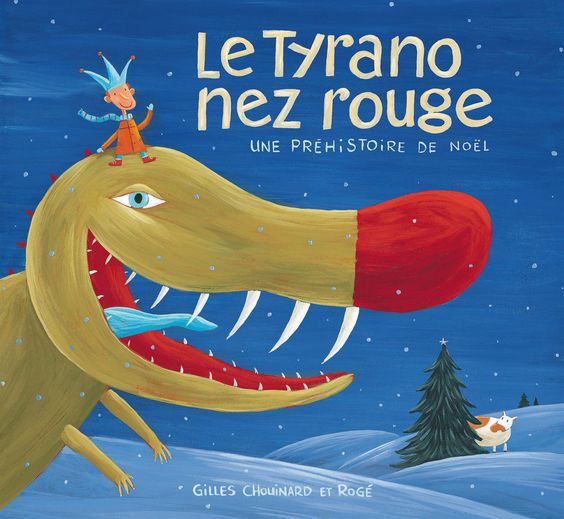 Le Tyrano nez rouge, une préhistoire de Noël