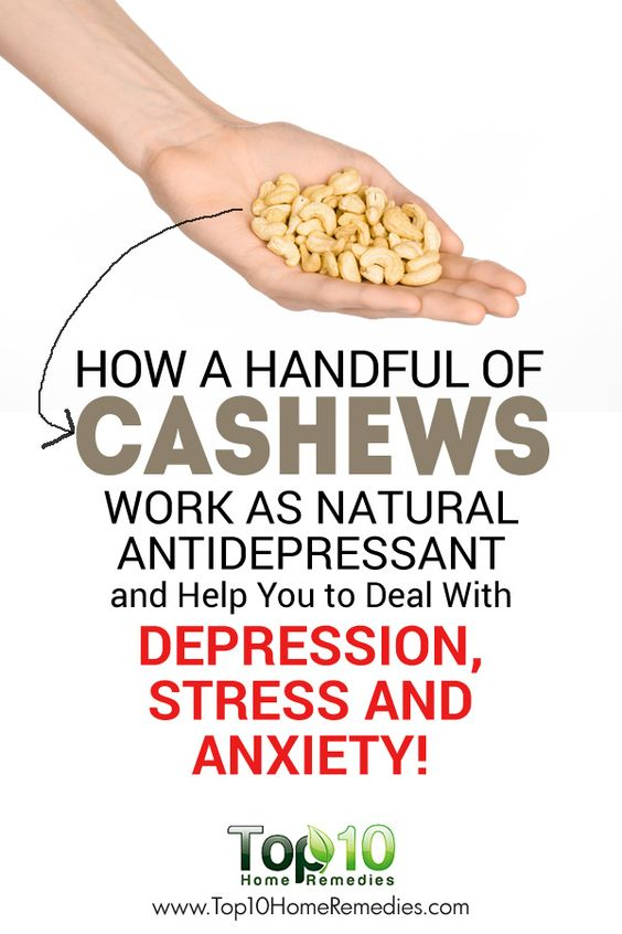 How Handful of Cashews Work as Natural Antidepressant and Help You to Deal With Depression, Stress and Anxiety!