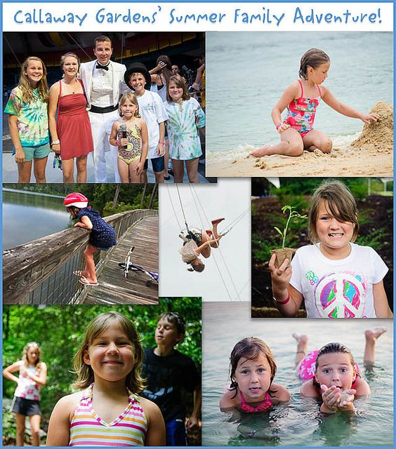 Attend summer camp as a family—the kids have activities and counselors from 9 to 3; the adults can do any of the preplanned activities (Zumba, wine 101, cooking classes, etc.) or just bike around or read. Sounds like a heavenly family vacation.