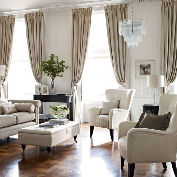 luxford stripe natural upholstery fabric living room color schemes laura ashley and living rooms