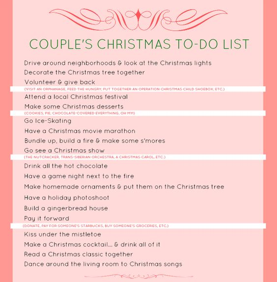 dating christmas gifts