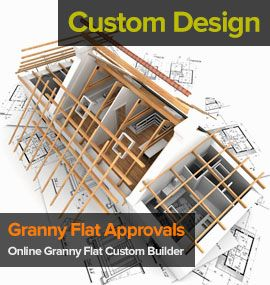 Flats granny flat plans and garage on pinterest for Granny flat above garage plans