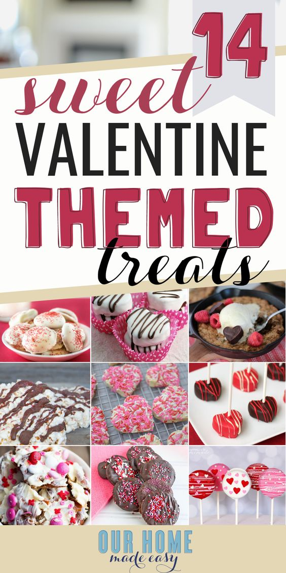 14 Super Easy Valentine's Day Desserts – Our Home Made Easy