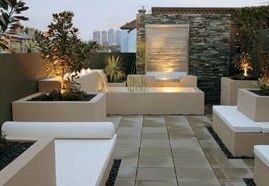 Another modern accessory for landscaping is contemporary outdoor lighting.