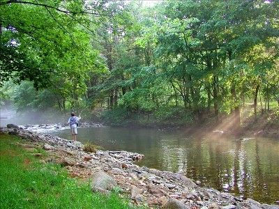 Nothing like fishing on the river bank
