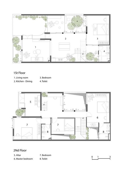 Gallery Of A House Iz Architects 30 Architect 2bhk House Plan Townhouse Designs Small house design archdaily