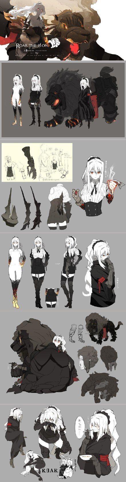 Character Design Editor : 「abyssal」 「kannnu character design pinterest