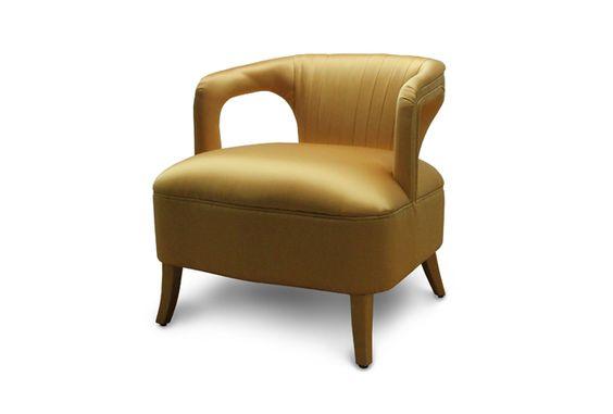 KAROO | Modern Upholstered Armchair by BRABBU