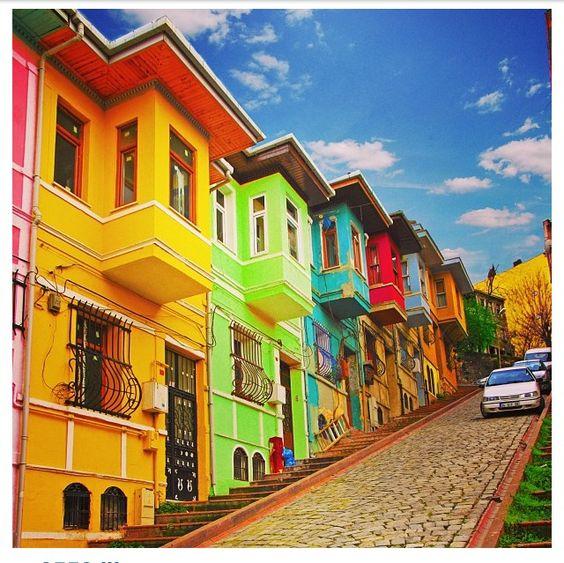 Colorful Buildings: Favorite Places & Spaces