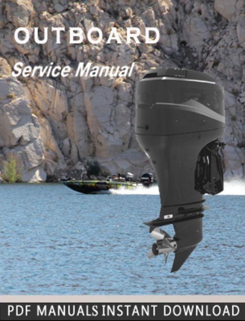 Mercury Outboard 30 40 4 Stroke Service Repair Manual Service Manuals Club Outboard Mercury Outboard Repair Manuals