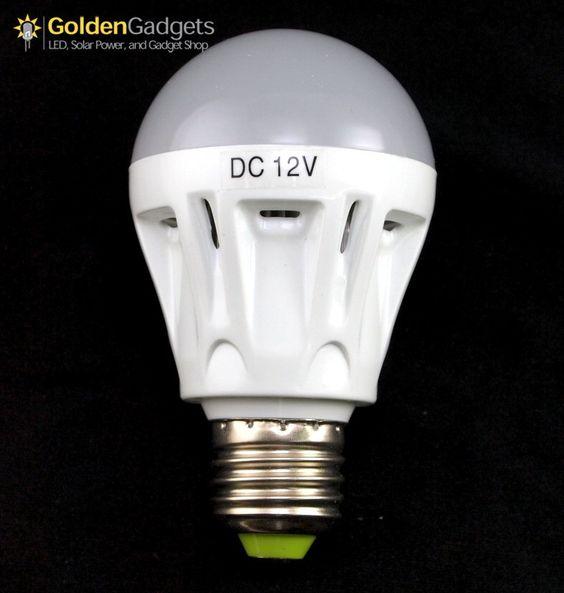 5 Watt 12v Dc Led Light Bulb E26 E27 Cool White 430 Lumen Led Light Bulb Led Lights Led