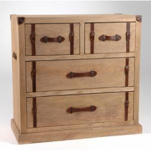 Commode 4 tiroirs Acajou/Placage Chêne - L85xP40xH80cm FIGUIER,  Caractéristiques techniques : Matière : En bois de Acajou, MDF (Panneaux de fibres de densité moyenne) placage Chêne Dimensions : Longueur : 85 cm Profondeur : 40 cm Hauteur : 80 cm 4 tiroirs  Les plus produit : Effet patiné comme vieilli...sur www.shopwiki.fr !  #commode #meubles #rangement #maison #shopwikifr