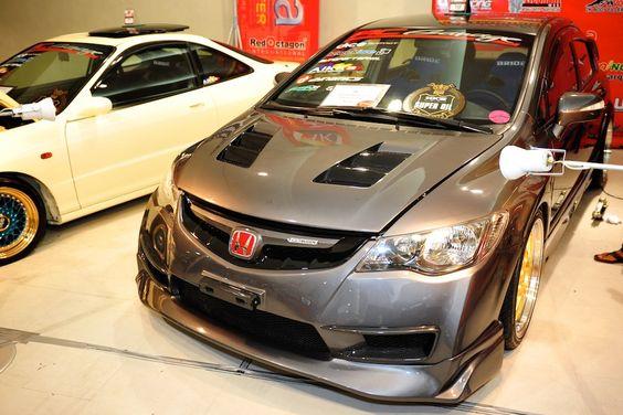 https://flic.kr/p/bA67wW   Transport Show 2012   Honda Civic FD Mugen Type R