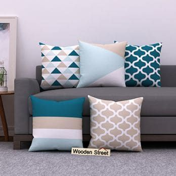 Sugar Pastels Cushion Covers Set Of 5 Cushions On Sofa Cushion Covers Online Sofa Cushion Covers