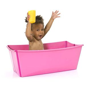 Flexibath - a bath for kids that folds out of the way