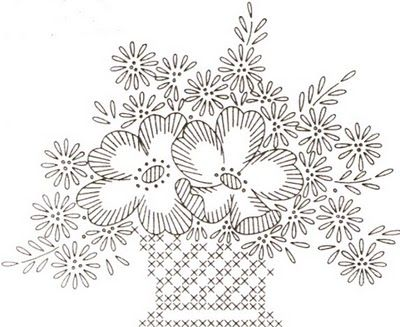Yesteryear Embroideries: A Free Design For You!