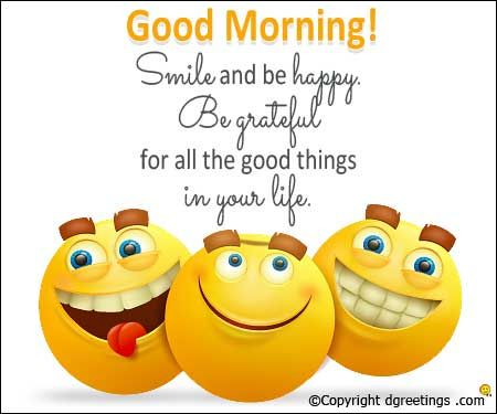 Good Morning Smile Wednesday Quotes
