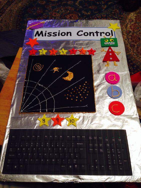 nasa mission control dramatic play ideas - photo #16