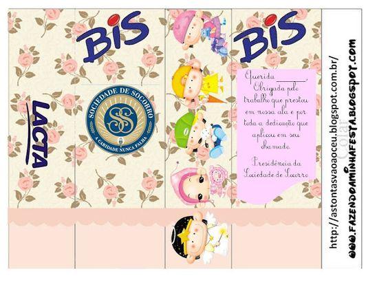 Caixa de Bis para irmãs que são desobrigadas da Sociedade de Socorro