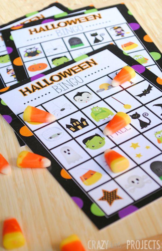 Free Printable Halloween Bingo Game