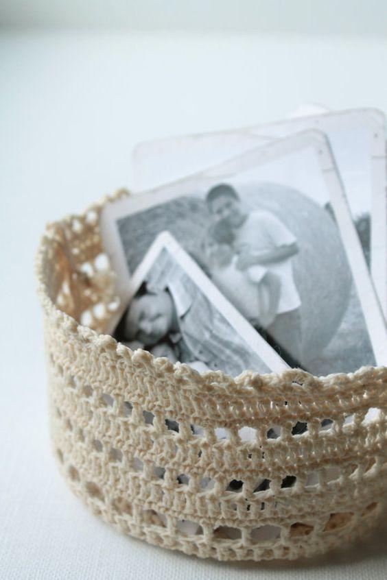 Handmade Crochet Mini Basket