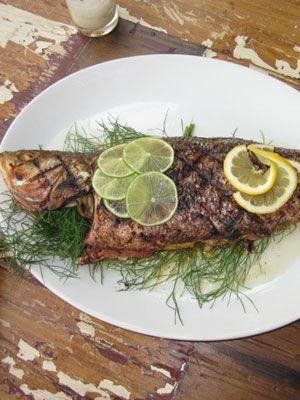 Grilled Sea Bass Recipe -