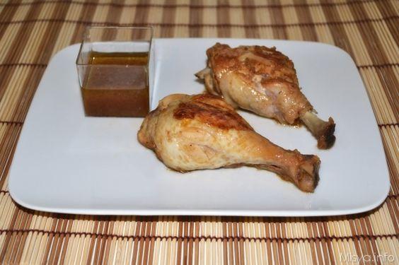 Pollo alla senape e miele. Scopri la ricetta: http://www.misya.info/2013/04/05/pollo-alla-senape-e-miele.htm