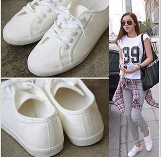womens white canvas shoes - Google Search   ONE DIRECTION ...