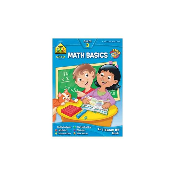 Math Basics 3 ( An I Know It ! Combo Book) (Deluxe) (Paperback)