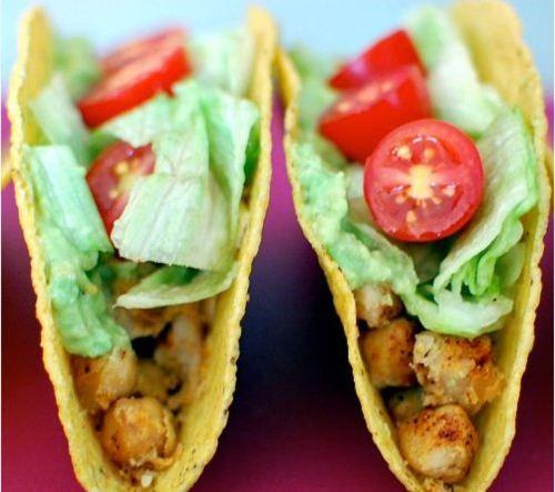 Chickpea tacos #recipe