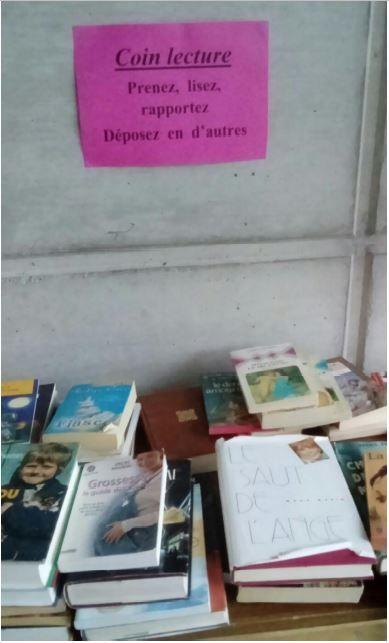 Boite à livres Thuin
