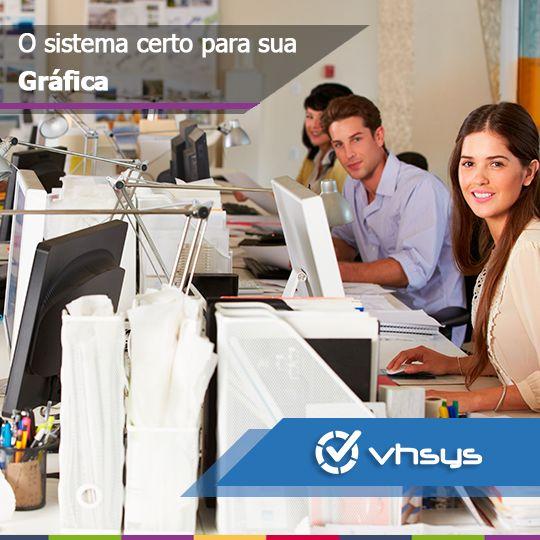 Sistema de Gestão para sua Gráfica   O VHSYS  se adapta perfeitamente a sua Gráfica, pois possui módulos que facilitam suas rotinas diárias e reduzem seu tempo e dinheiro.  http://vhsys.com.br/blog/sistema-gestao-grafica/